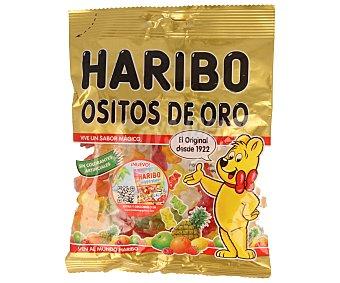 HARIBO Ositos de Oro Caramelos de goma con zumo de frutas Bolsa 150 g