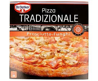 Tradizionale Dr. Oetker Pizza tradicional prosciutto-funghi Estuche 365 g