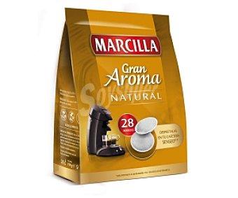 SENSEO de MARCILLA Café Monodosis natural 28 Unidades