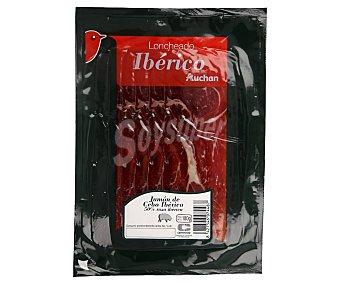 Auchan Jamón de cebo ibérico (50% raza ibérica), cortado en en lonchas 100 g