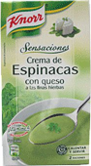 Knorr Sensaciones espinacas 500 ML