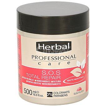 Herbal Professional care sos mascarilla total repair Tarro 500 ml