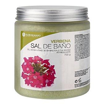 Flor de Mayo Sal de baño Verbena 700 g