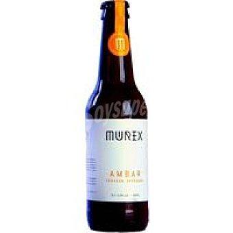 MUREX Cerveza artesana Ambar Botellín 33 cl