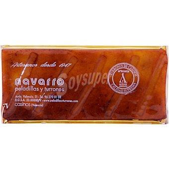 Navarro Turrón de yema tostada con limón  tableta 300 g