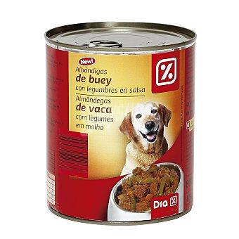 DIA Alimento para perros trozos buey y verdura Lata 800 gr