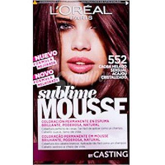 Sublime L'Oréal Paris Tinte caoba helado N.552 Caja 1 unid