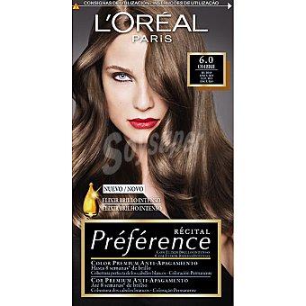 Recital Preference L'Oréal Paris Tinte Rubio Oscuro Nº 6 1u