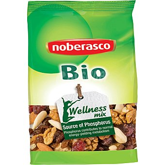 Noberasco Bio Wellness Mix surtido de frutos secos con fosforo bolsa 180 g Bolsa 180 g