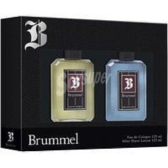Brummel Set para hombre Colonia-Afer Shave Pack 1 ud