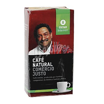 Intermón Oxfam Café Oxfam Molido Natural Intermón Oxfam 250 g