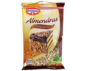 Dr. Oetker Trocitos de almendras tostadas dulces 85 gramos
