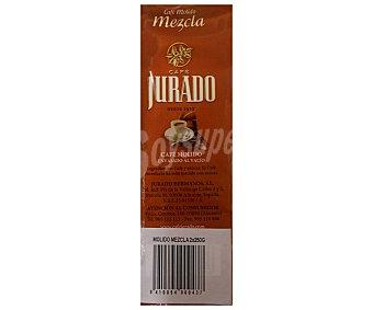 Jurado Café Molido Mezcla 2 Unidades de 250 Gramos