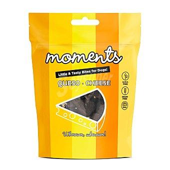 Moments Grain free snacks semihúmedos para perros con queso Envase 60 g