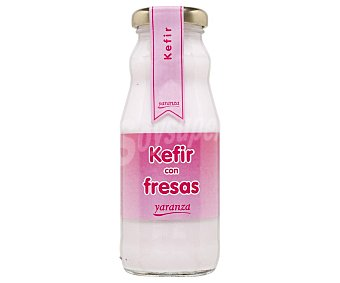 Yaranza Kefir líquido con fresas y elaborado sin gluten 200 g
