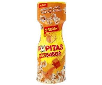 Popitas Borges Preparado sabor queso Cheddar para condimentar palomitas MaxiSabor 60 Gramos