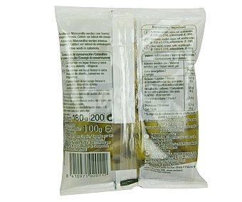 Auchan Aceituna manzanilla con hueso 100 gramos