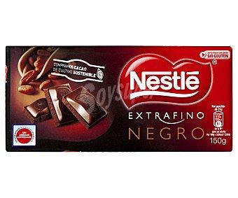 Nestlé Chocolate extrafino negro 150 gramos