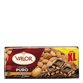 Valor Chocolate puro con almendras xl 300 g