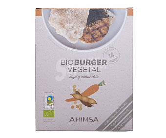 Ahimsa Burguer vegetal de soja y zanahoria 150 gramos