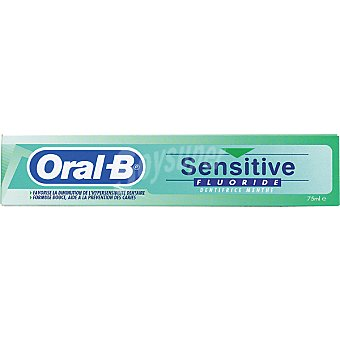 Oral-b Pasta dentífrica Sensitive Fluoride Tubo 75 ml