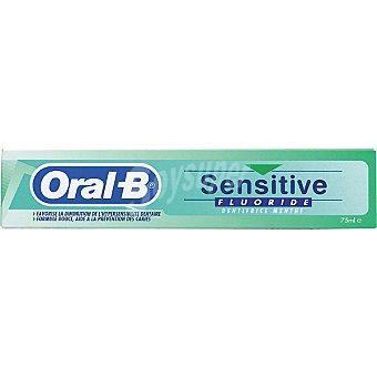 Oral-B Pasta dentífrica Sensitive Fluoride Tubo 75 ml