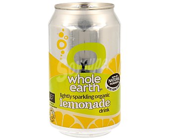 WHOLE EARTH Refresco de limón biológico Lata de 33 ml