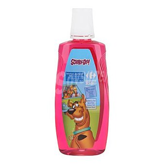 Carrefour Kids Enjuangue bucal infantil sin alcohol sabor fresa Bote de 500 ml