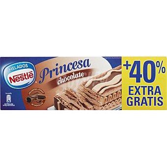 Nestlé Gran Dama Princesa tarta helada de chocolate estuche 850 ml + 40% gratis Estuche 850 ml + 40% gratis