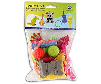 NV CORPORACION Bolsa de 20 juguetes para piñata Paquete de 20 Unidades