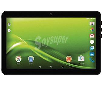"""Selecline Tablets con pantalla de 10,1'' selecline 870669 (producto económico alcampo), procesador: Quad-Core, Ram: 1GB, almacenamiento: 8GB ampliable mediante microsd, resolución: 1024 x 600px, cámara frontal y trasera, conectividad 3G, Android 5.1 10,1"""" WiFi/3G I27"""
