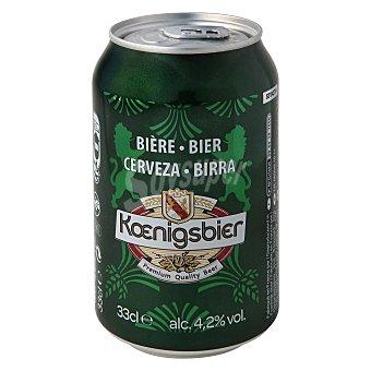 Koenigsbier Cerveza Lata 33 cl