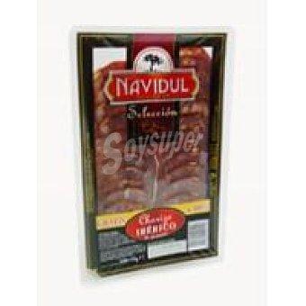 NAVIDUL Chorizo Ibérico en Lonchas sobre 100g
