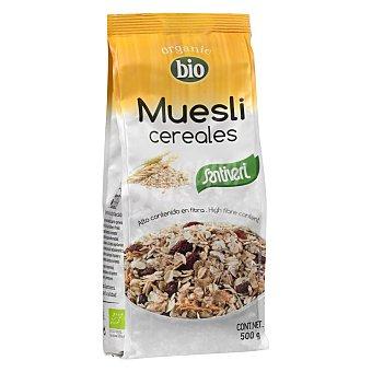 SANTIVERI NATURALIA Muesli de cereales aplastados bio bolsa 500 g Bolsa 500 g