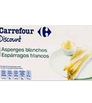 Carrefour Discount Espárragos blancos 150 g
