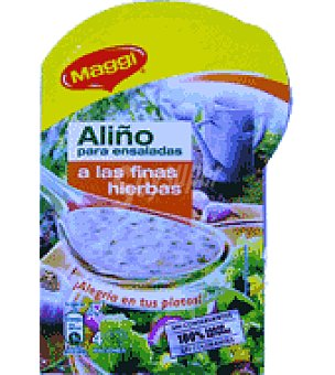 Maggi Aliño ensalada ajo 9 g