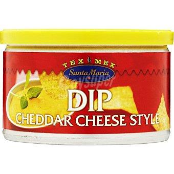 Santa Maria Salsa dip queso  lata de 250 g