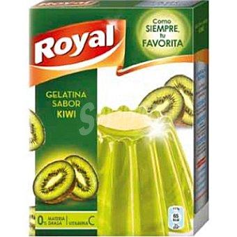 Royal Gelatina sabor kiwi 8 raciones estuche 170 g Estuche 170 g
