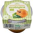 Crema de calabaza ecológica Tarrina 250 g Sol y Azahar