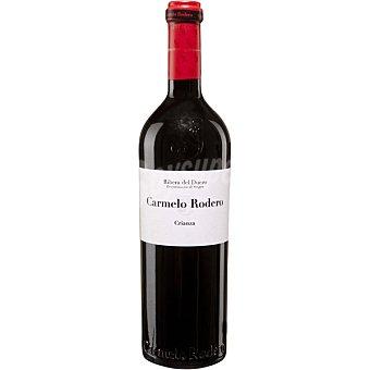 CARMELO RODERO Vino tinto crianza .O. Ribera del Duero botella 75 cl 2010 D