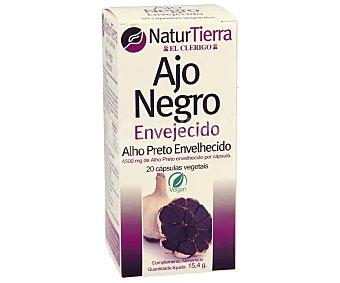 NaturTierra Complemento alimenticio a base de ajo negro envejecido 20 uds