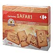 Galletas Safari Pack de 3 unidades de 200 g Carrefour
