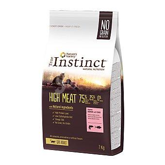 True Instinct No grain high meat pienso para gatos adultos con salmón y atún Envase 7 kg