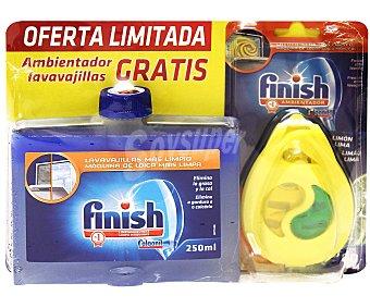 Finish Limpiamáquinas lavavajillas con ambientador gratis 250 ml