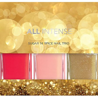 All Intense Laca de uñas Sugar 'n' Spice Nail Pack 3 frasco 10 ml