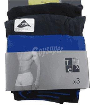 Tex Boxer algodón lycra multicolor hombre Pack 3 unidades