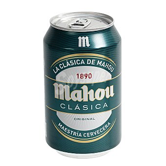 Mahou Cerveza clasica Lata 330 ml