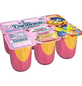 Danonino Danone Danonino Petit de fresa-plátano 6 unidades de 55 g