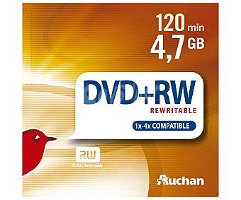 Auchan Tarrina de 10 10 dvd+r 4,7GB 16X dvd-r 4,7GB 16X
