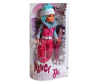 NANCY Muñeca Nancy con todos los accesorios para ser la mejor esquiadora 1 Unidad